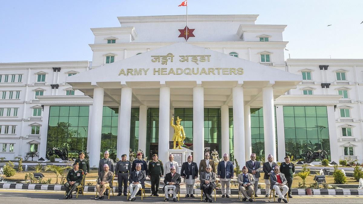 सीमा सुरक्षामा सेना–सशस्त्रसहकार्य