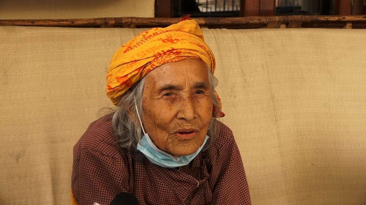 Good News: काठमाडौं सिनामंगलकी ९३ वर्षिया सुशिला भुजेल यसरी भइन कोभिड संक्रमण मुक्त