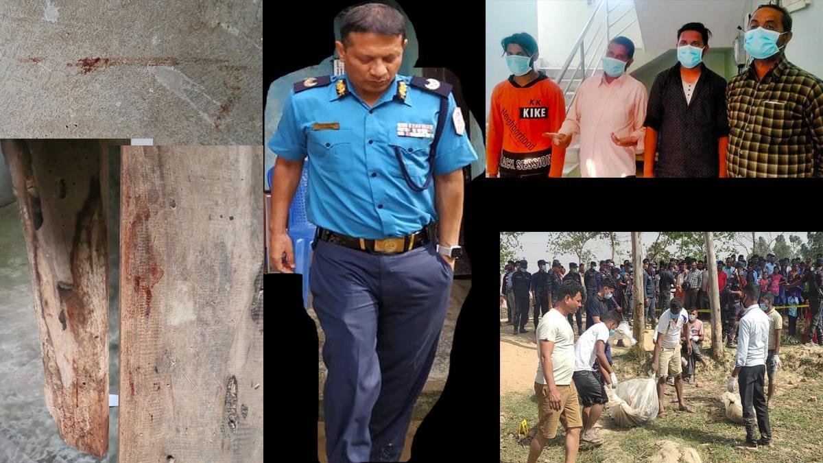 झा दम्पत्ती हत्या प्रकरणः पक्राउ परेका सात जना कारागार चलान