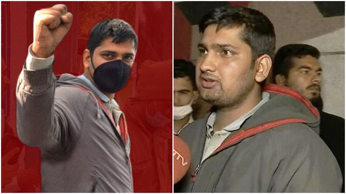 रिहा भए पत्रकार मन्दीप पुनिया, खुट्टामा लेखेर गरे तिहाड जेलबाटै पत्रकारिता