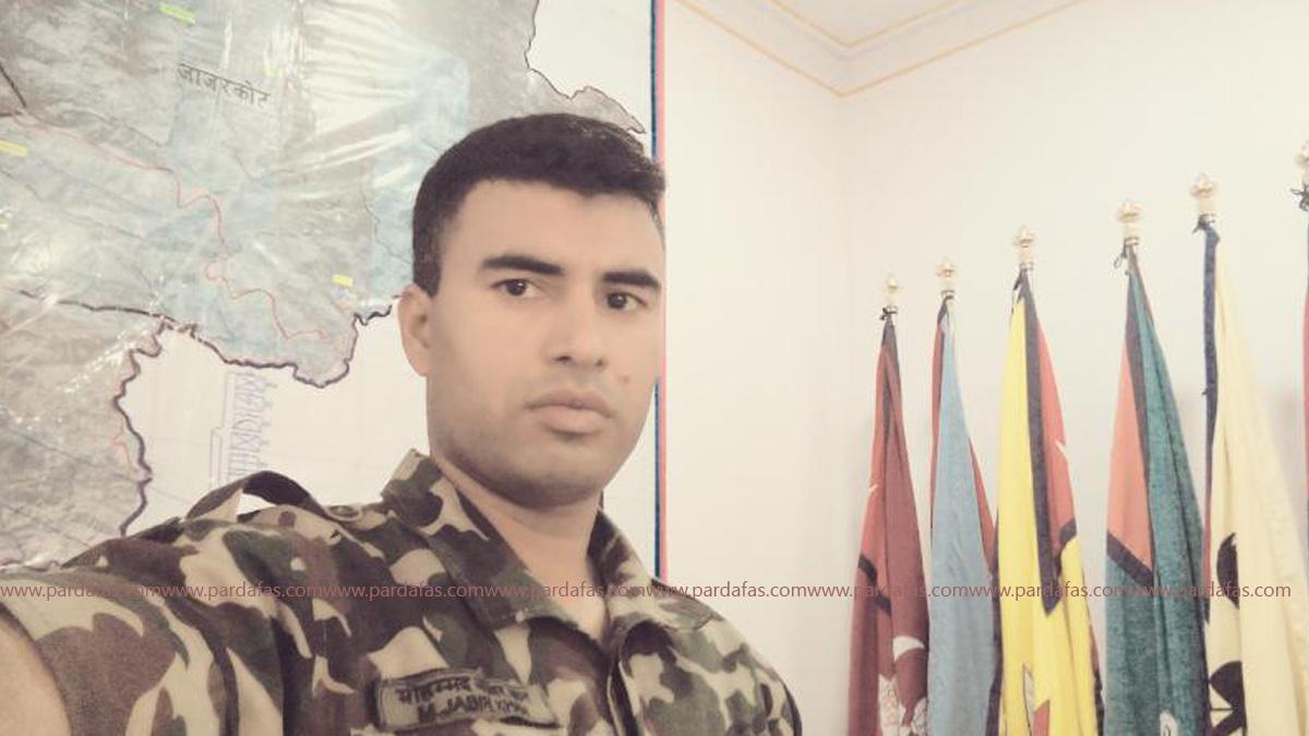 सेनाविरुद्ध उभिएका एकजना मुस्लिम सैनिक प्युठको कथा