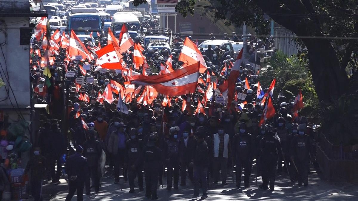 कांग्रेशको बिराेध प्रदर्शनमा देखिएको जनमतले भन्छ, 'इनफ इज इनफ सरकार'