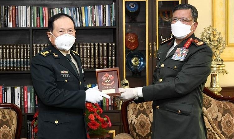 सैनिक सहयाेग सुचारू गर्ने चीनका रक्षामन्त्रीकाे प्रतिवद्वता(भिडियाे सहित)